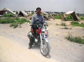 evangelist-akhtar-on-motorbike