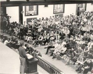 Asbury Student Body 1970