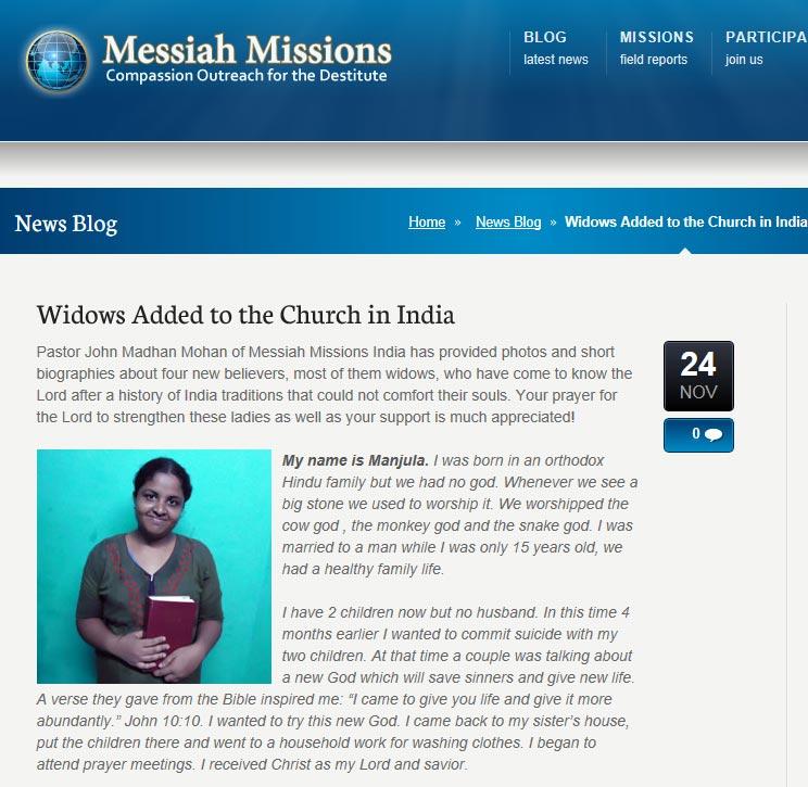 Widows-Messiah Missions