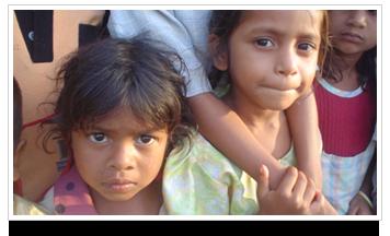 Slums in Chilakaluripet, India